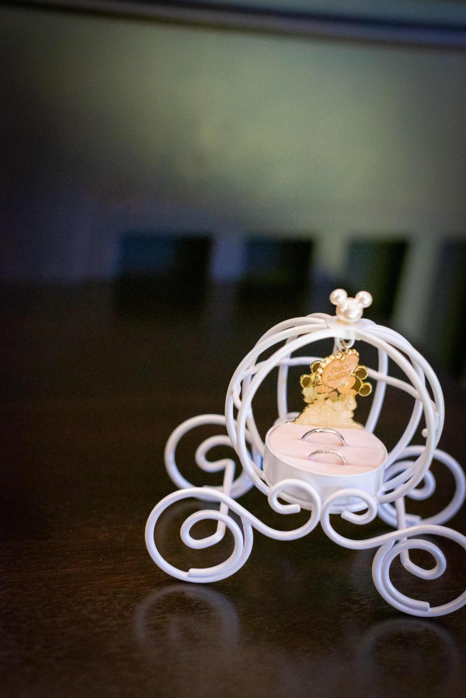 香川県の結婚式場シェルエメール&アイスタイル リングピロー