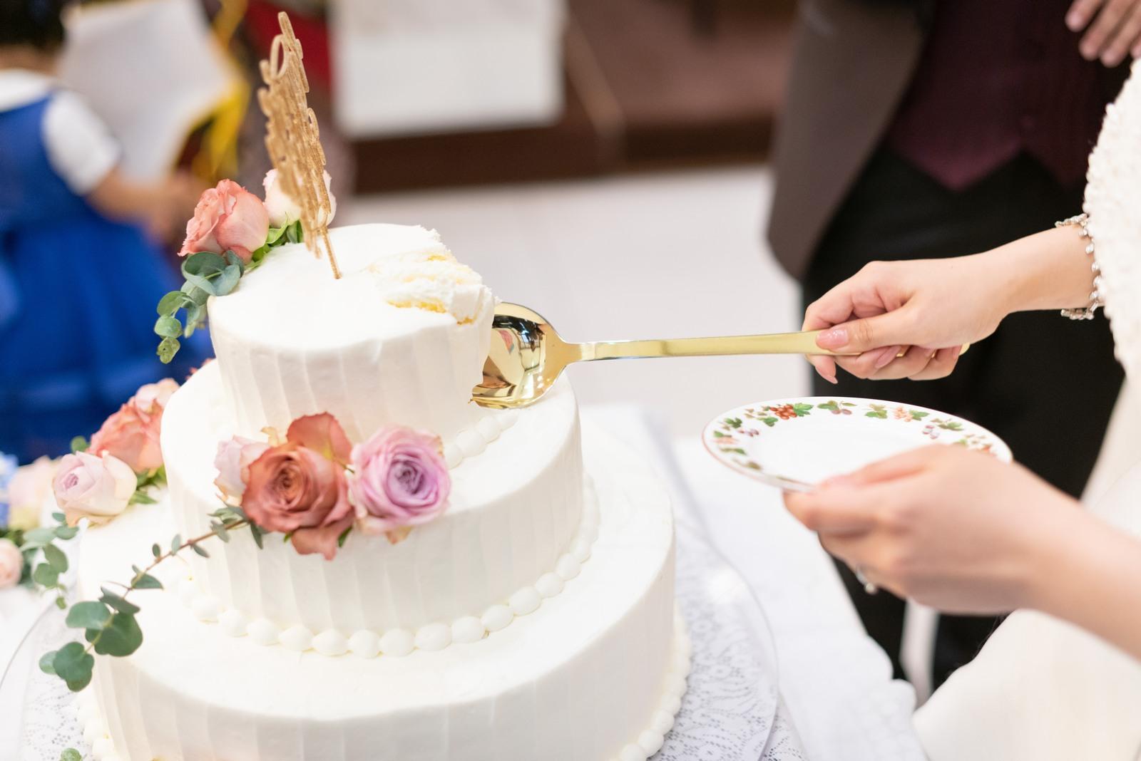 香川の結婚式場シェルエメール&アイスタイル ウエディングケーキ