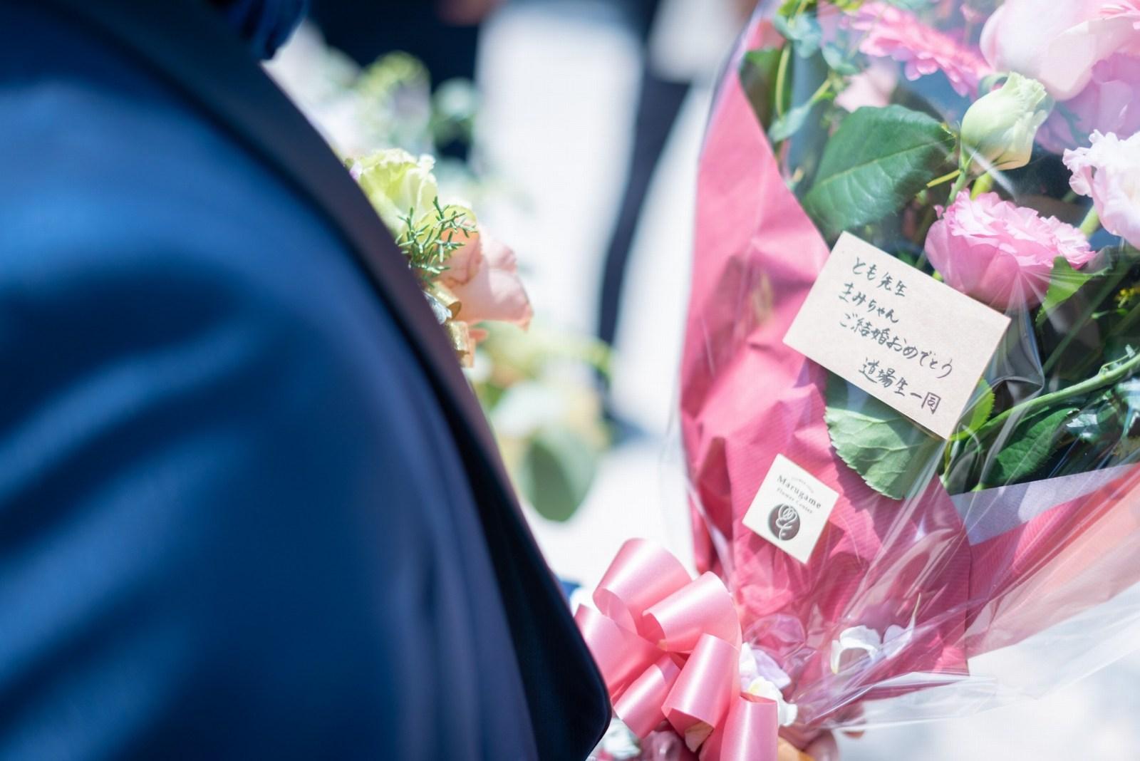 香川県の結婚式場シェルエメール&アイスタイル 花束