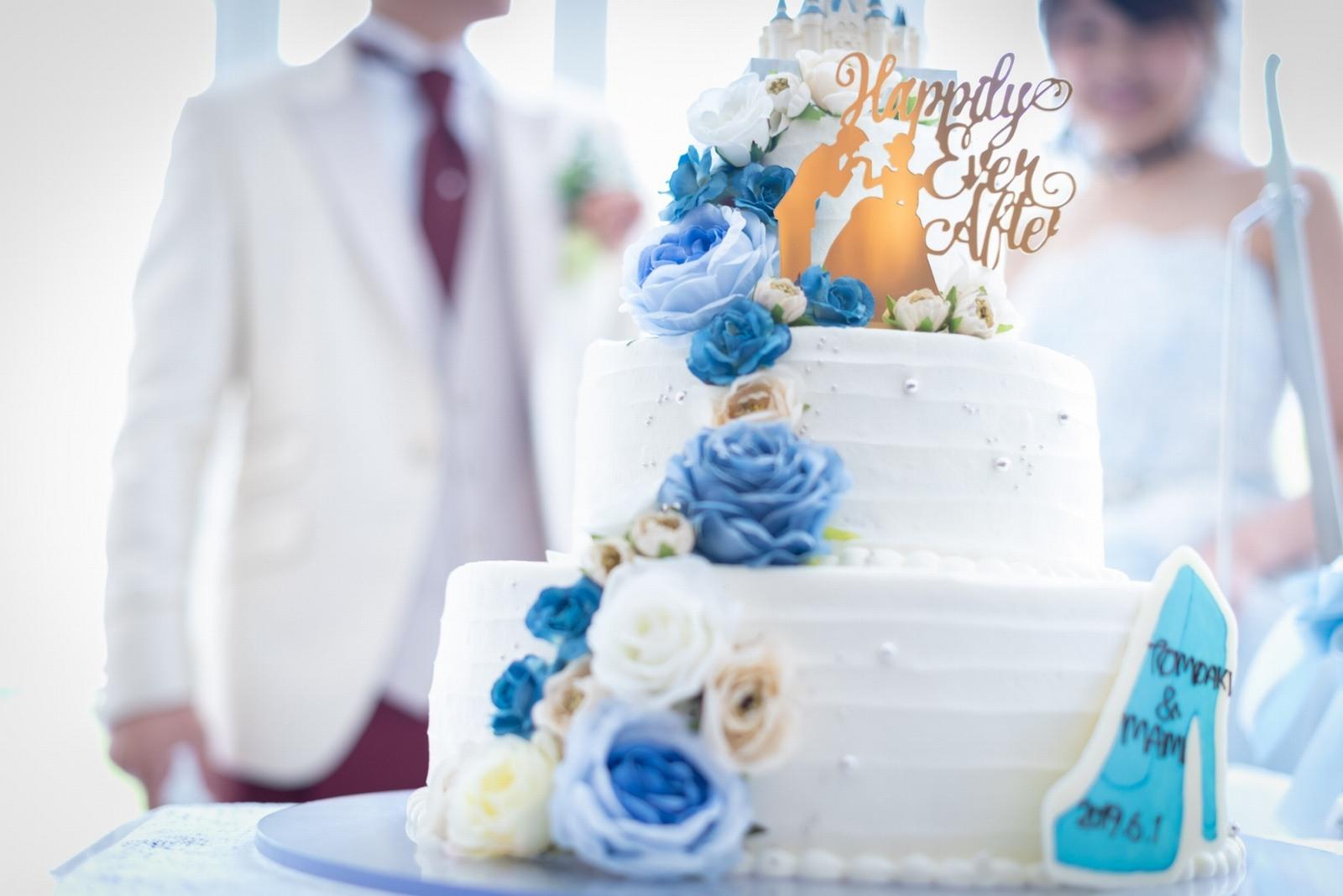 香川県の結婚式場シェルエメール&アイスタイル ウエディングケーキ