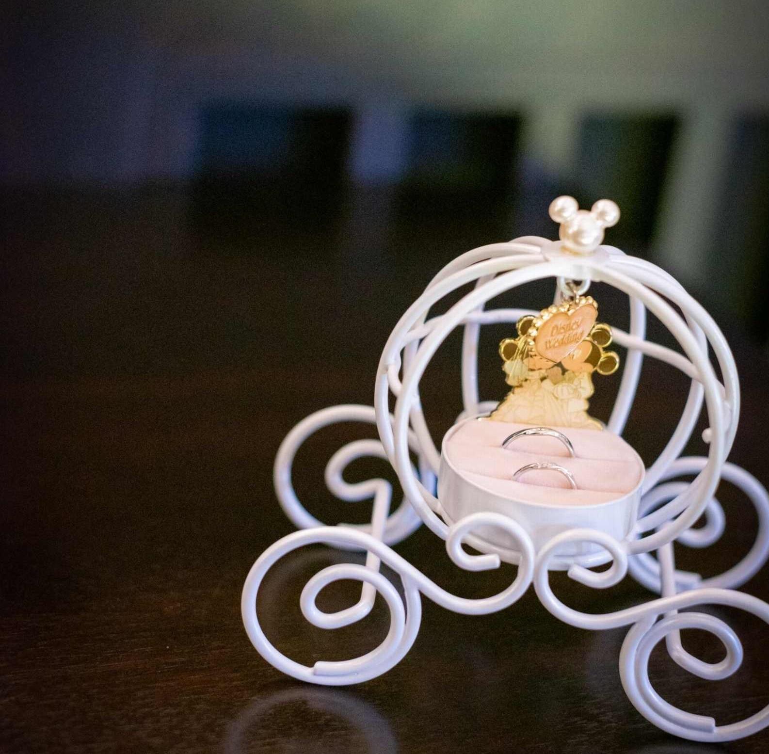 香川県の結婚式場のシェルエメール&アイスタイルのリングピロー