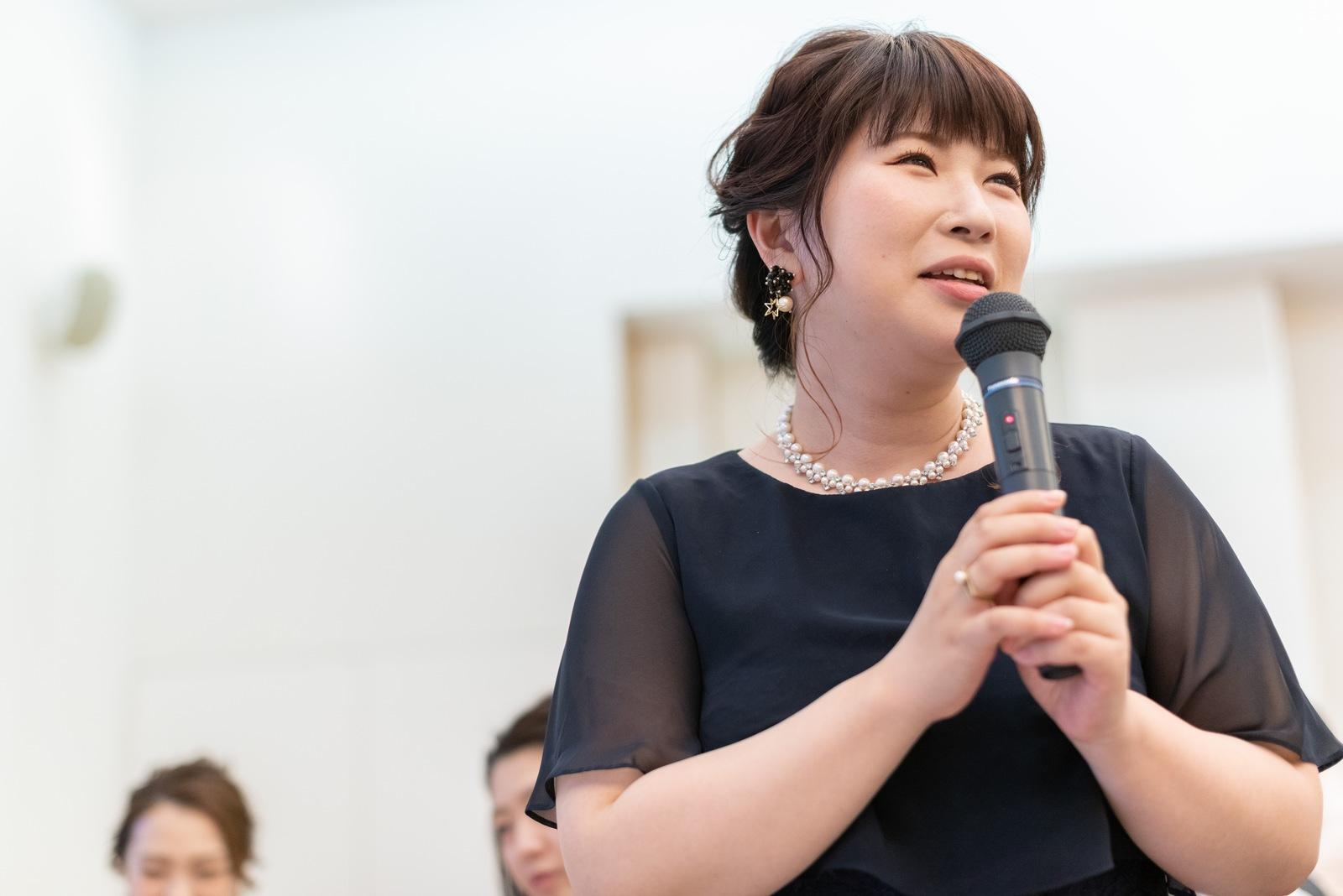 香川の結婚式場シェルエメール&アイスタイル スピーチ