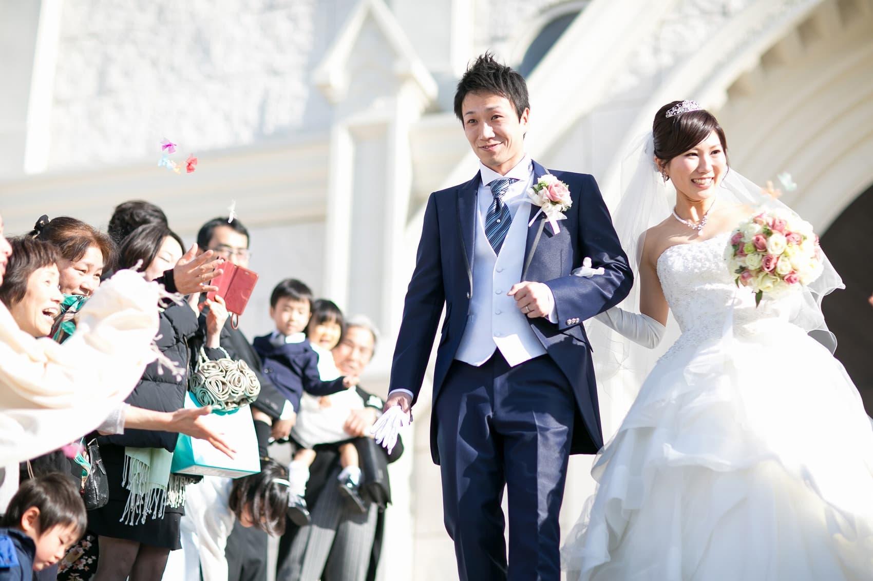 香川県高松市の結婚式場のシェルエメール&アイスタイルの大階段