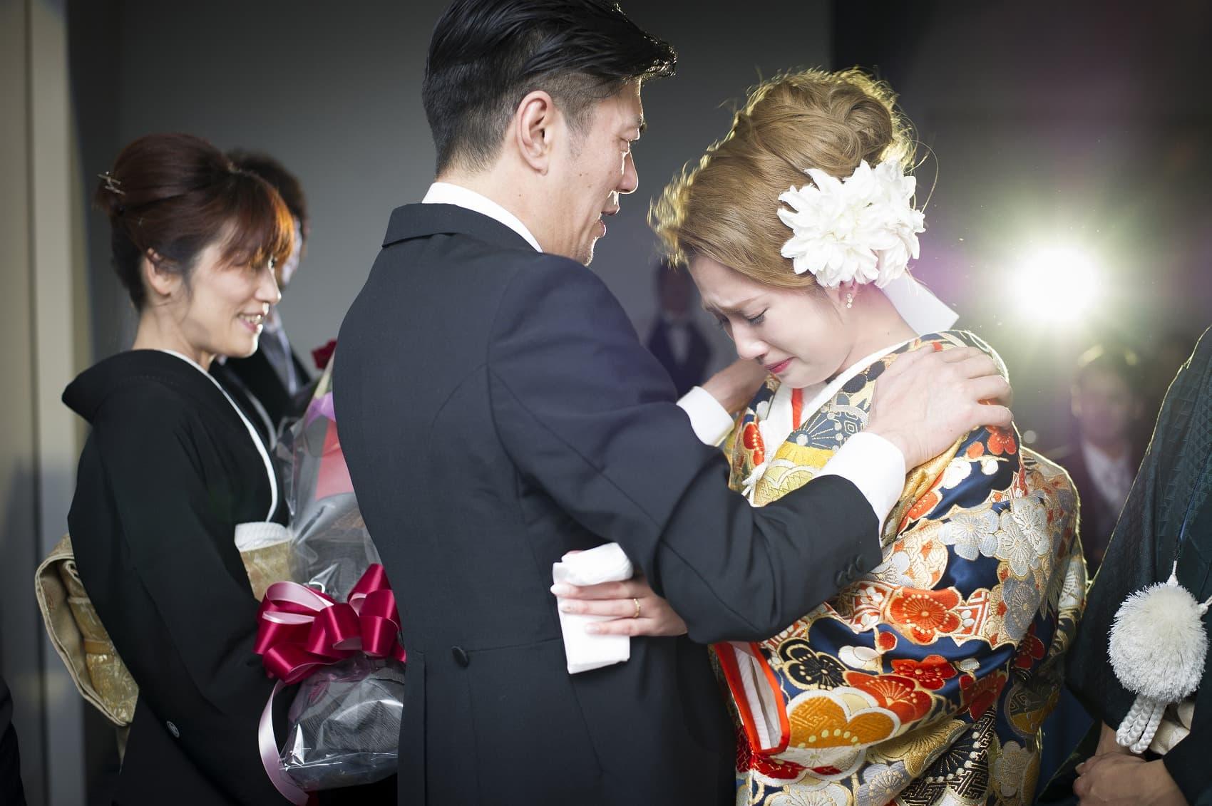 香川県高松市の結婚式場シェルエメール&アイスタイル 花束贈呈