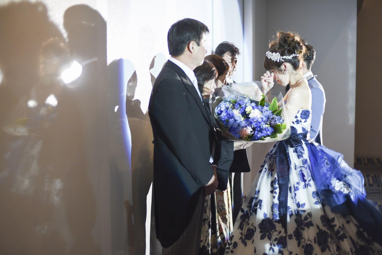 香川県の結婚式場シェルエメール&アイスタイル 花束贈呈