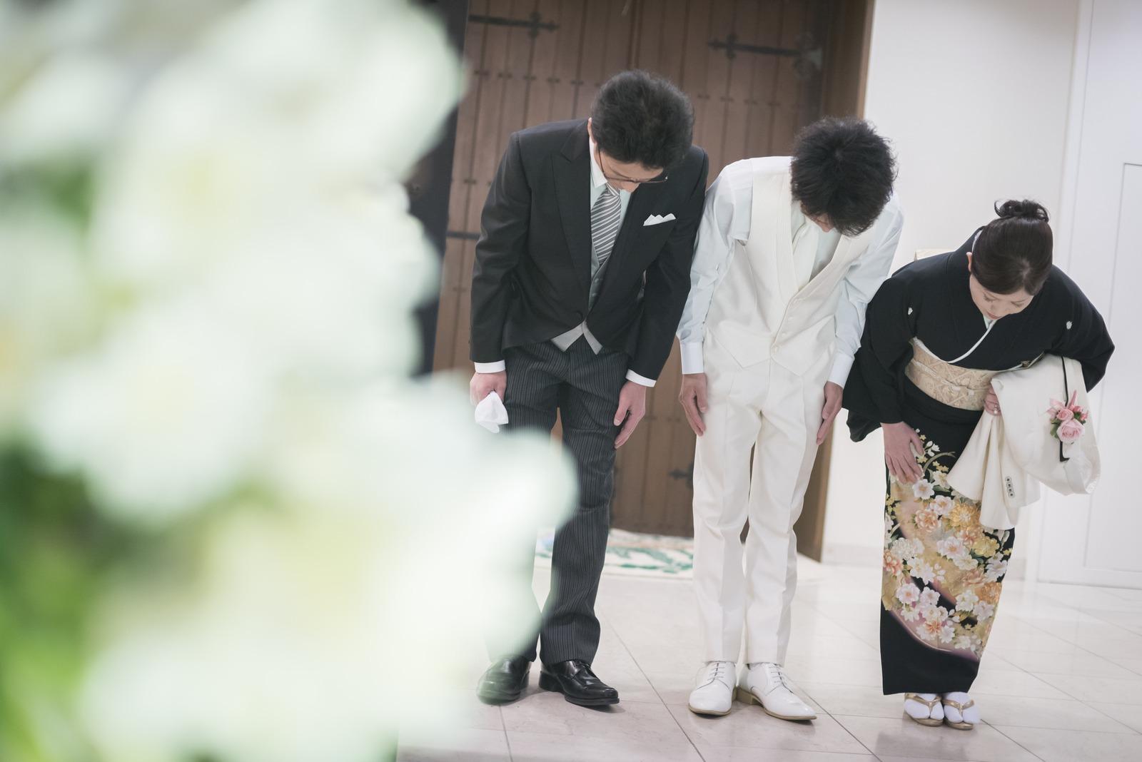香川の結婚式場シェルエメール&アイスタイル 新郎入場