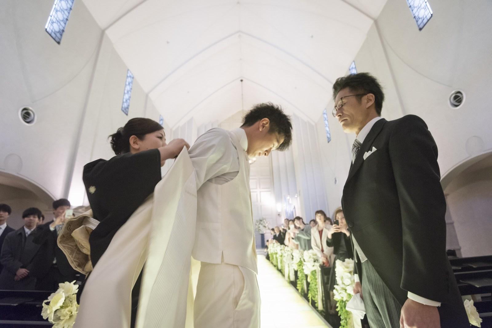 香川の結婚式場シェルエメール&アイスタイル ジャケットセレモニー