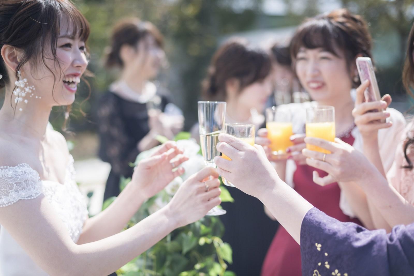 香川の結婚式場シェルエメール&アイスタイル 乾杯