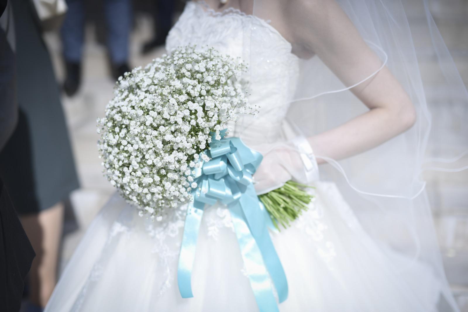 香川県の結婚式場シェルエメール&アイスタイル かすみそうのブーケ