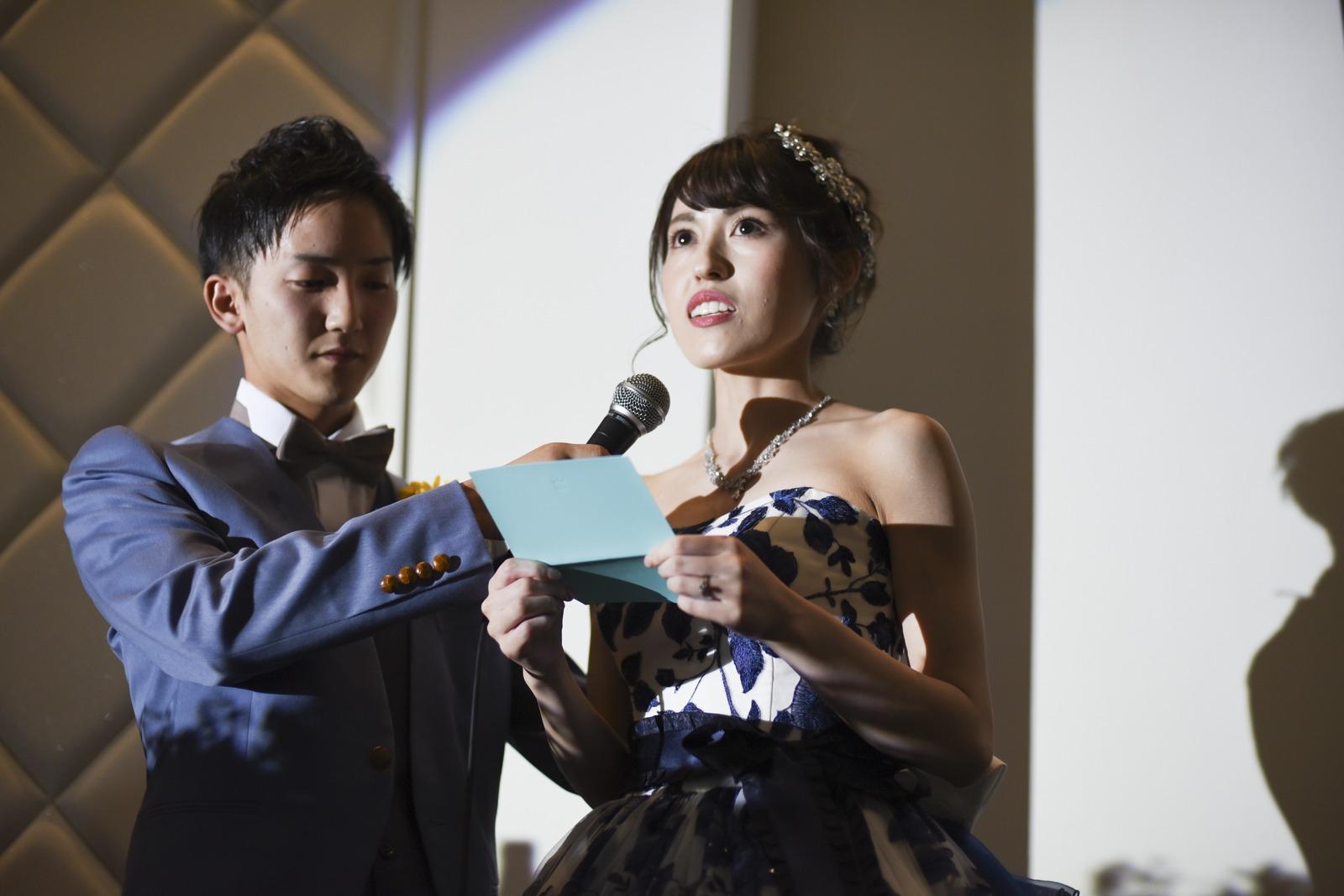 香川の結婚式場シェルエメール&アイスタイルの新婦手紙