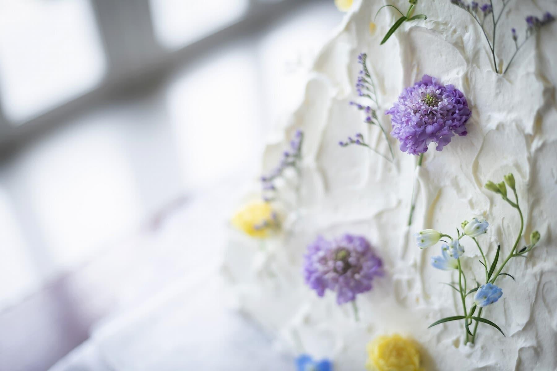 香川の結婚式場シェルエメール&アイスタイルのウエディングケーキ