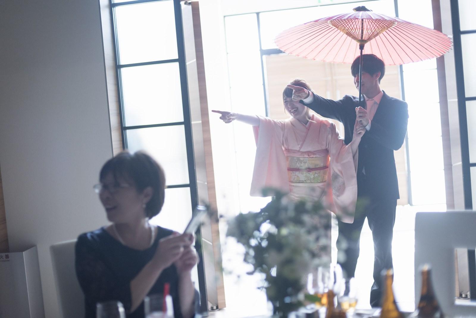 香川の結婚式場シェルエメール&アイスタイル お色直し入場