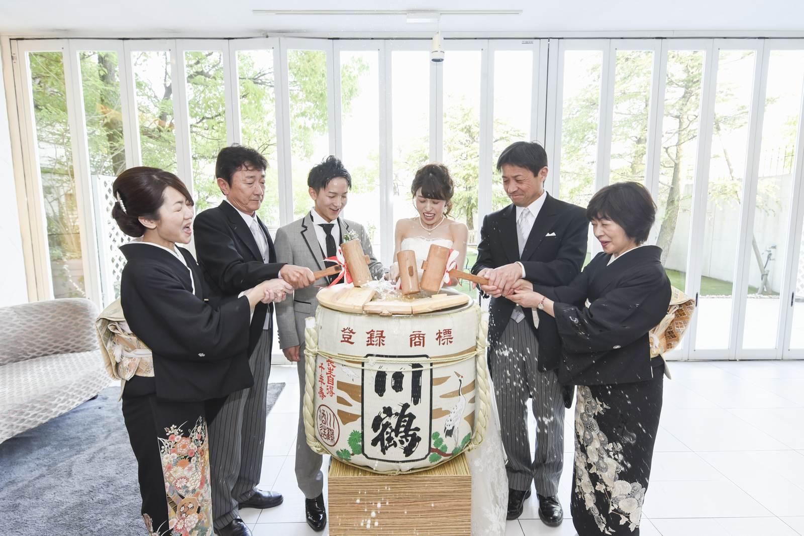 香川県の結婚式場シェルエメール&アイスタイルの鏡開き
