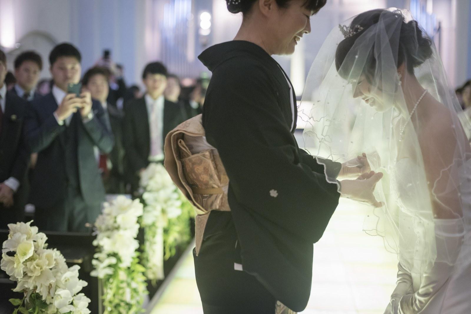 香川の結婚式場シェルエメール&アイスタイル ベールダウン