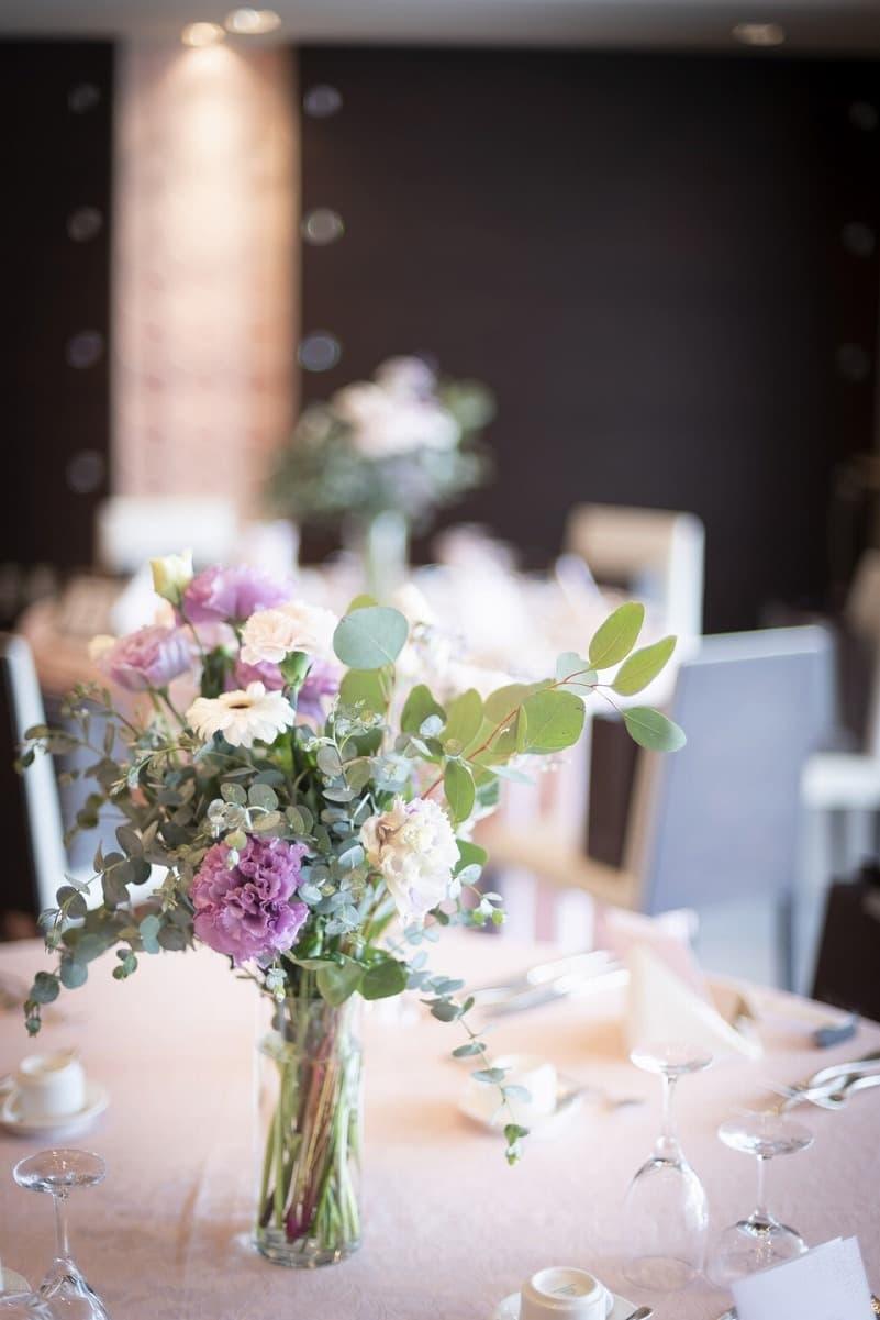 香川県の結婚式場シェルエメール&アイスタイル 会場装花