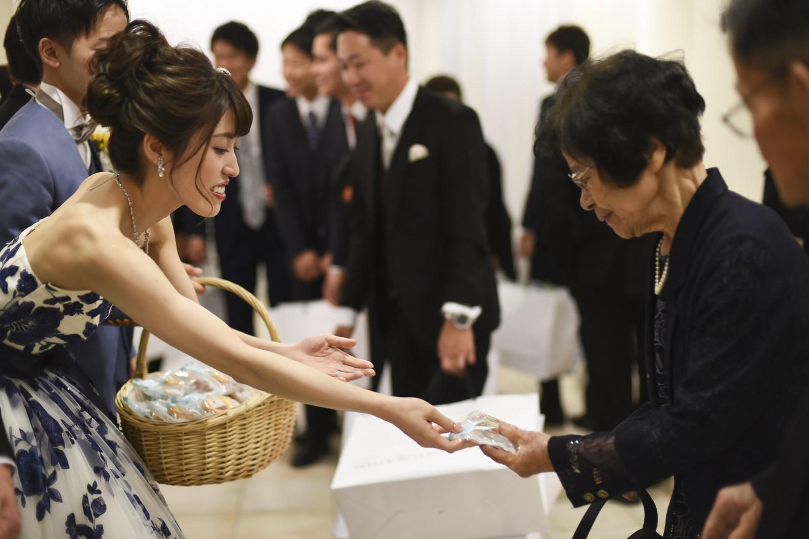 香川県の結婚式場シェルエメール&アイスタイルの送賓