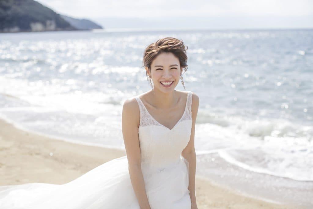 香川県高松市の結婚式場のシェルエメール&アイスタイルの海が見える式場