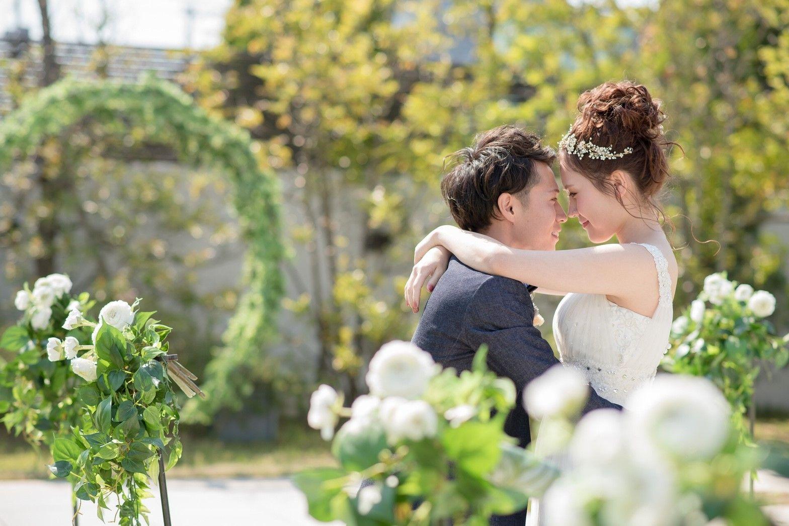 香川県の人気の結婚式場のシェルエメール&アイスタイルのガーデン