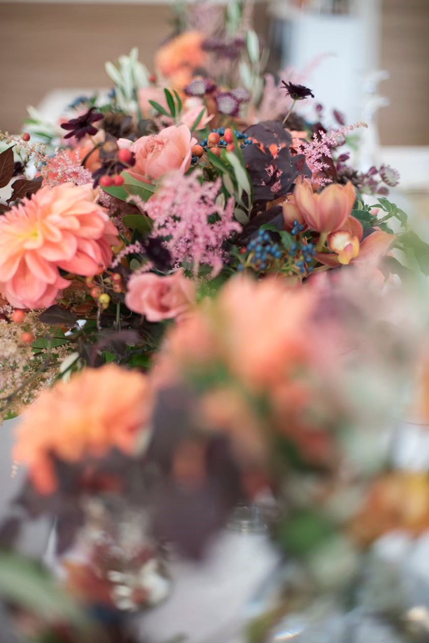 香川県の人気の結婚式場のシェルエメール&アイスタイルのエレガントな花