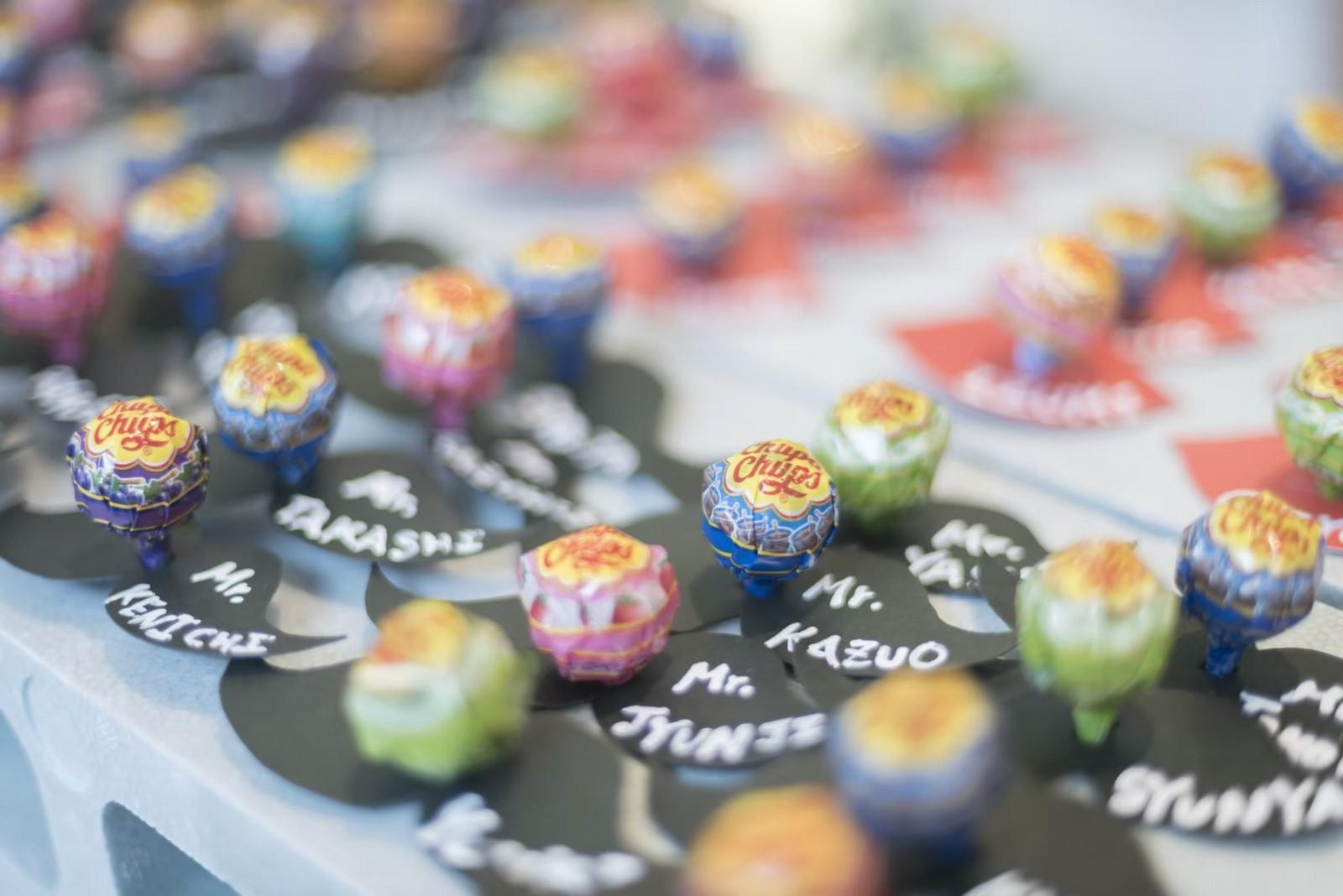 香川県の人気の結婚式場のシェルエメール&アイスタイルのエスコートカード