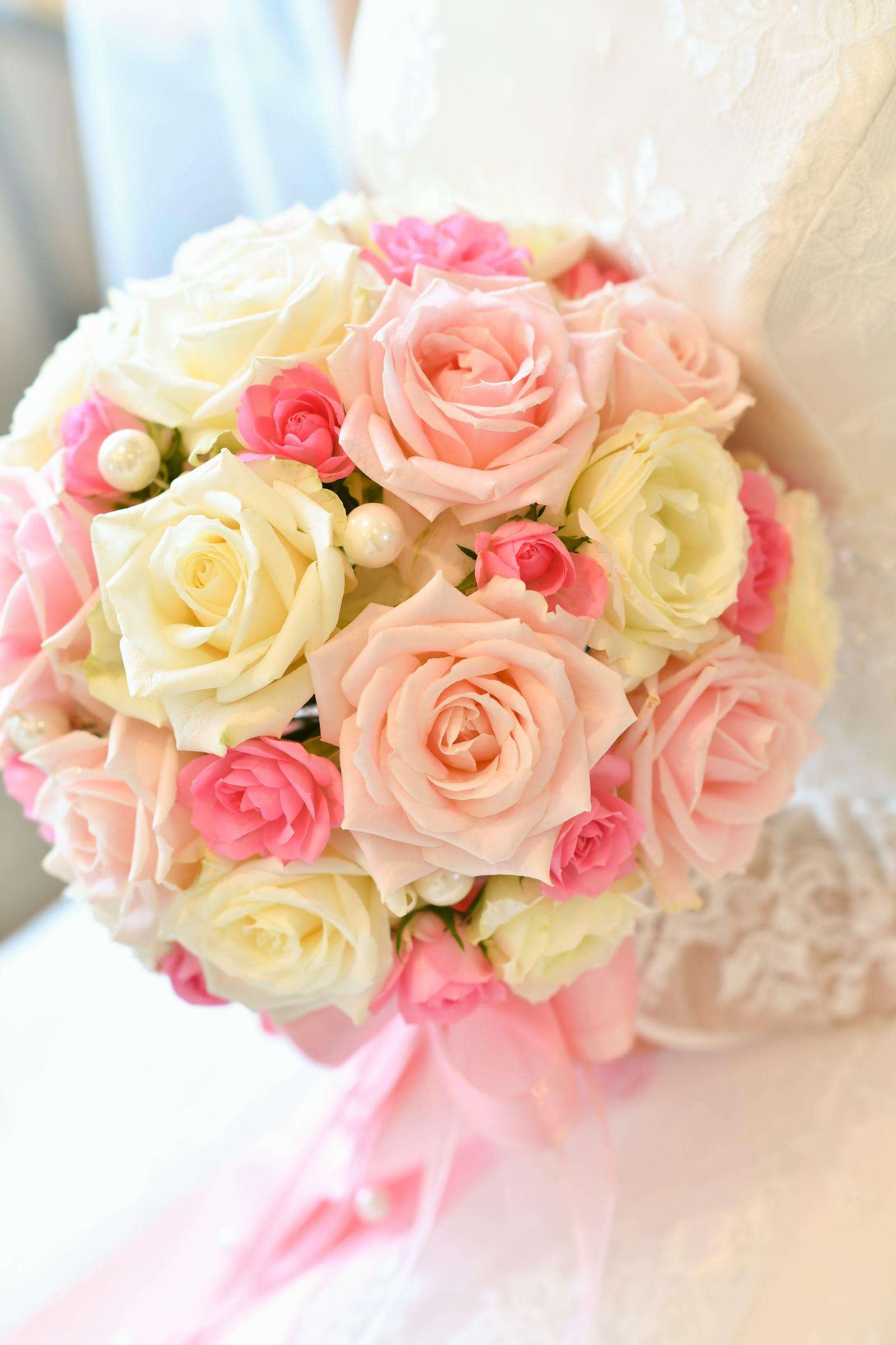 香川県の結婚式場のシェルエメール&アイスタイルのブーケ