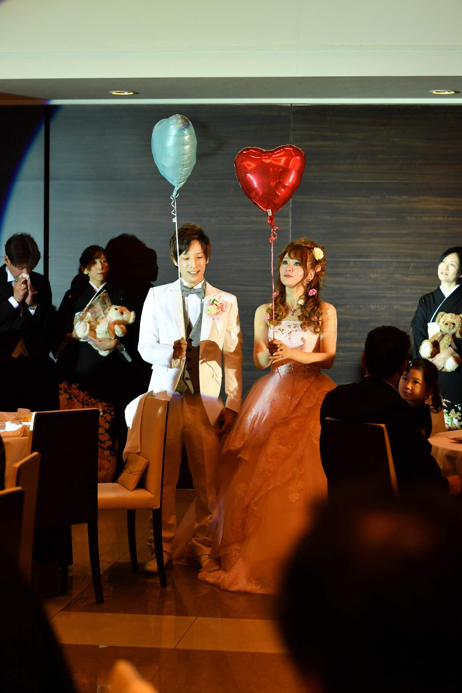 香川県の結婚式場のシェルエメール&アイスタイルのバルーン
