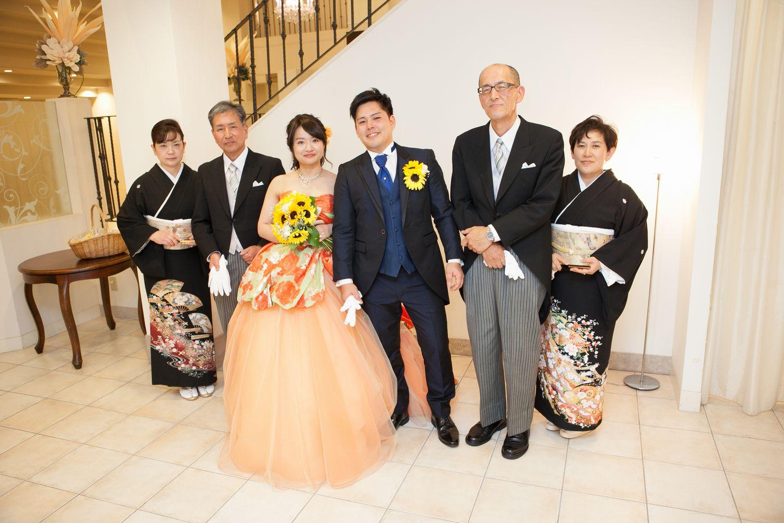 香川県の結婚式場シェルエメール&アイスタイルのご両家様