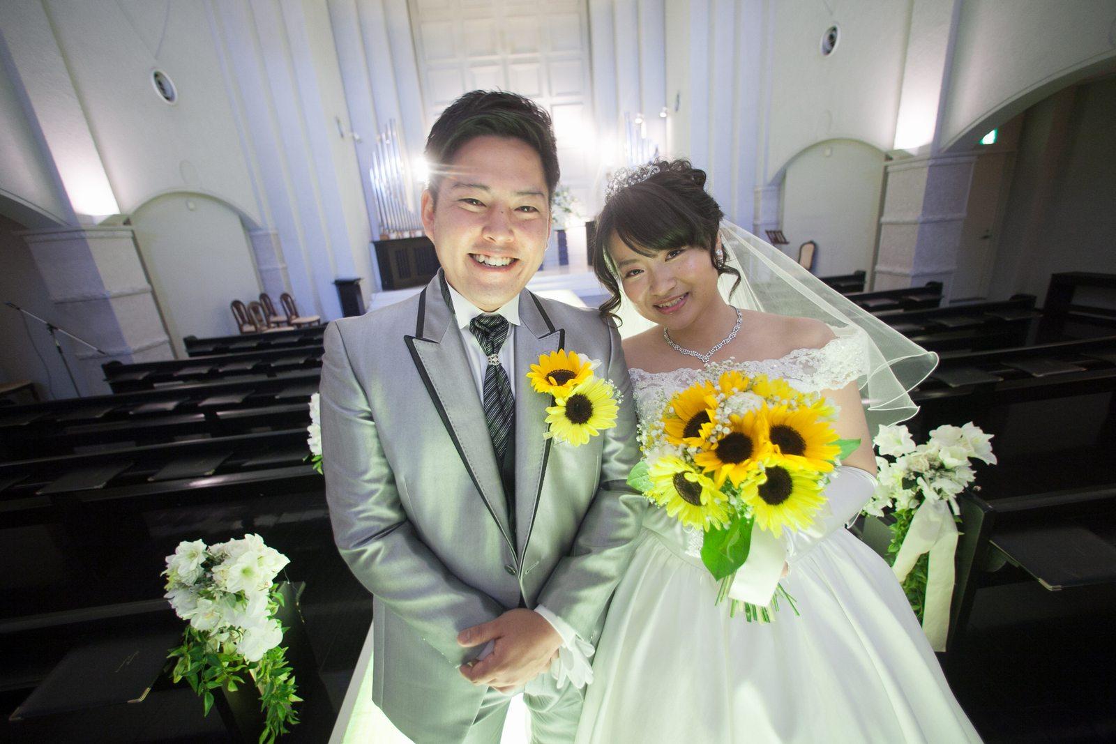 香川県の結婚式場シェルエメール&アイスタイル 新郎新婦