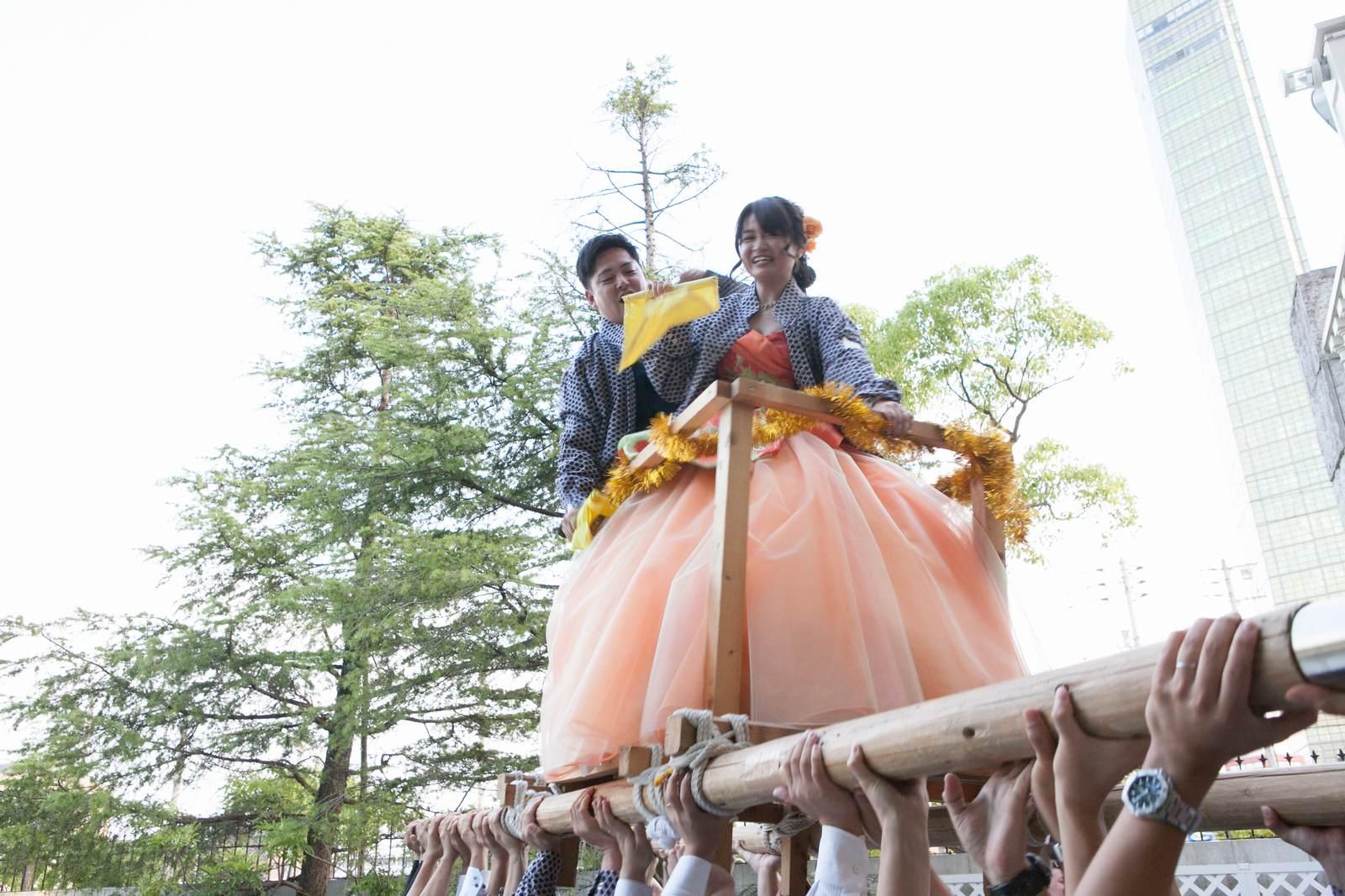 香川県の結婚式場シェルエメール&アイスタイルのみこし