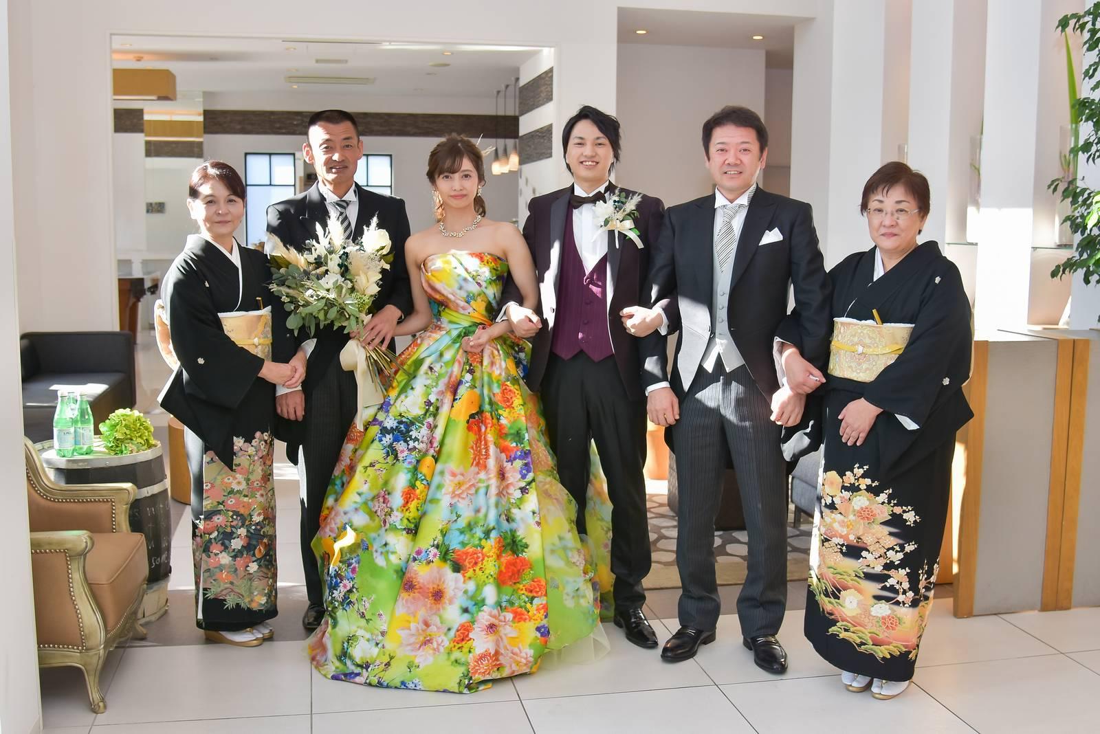 香川県の結婚式場シェルエメール&アイスタイルの両家