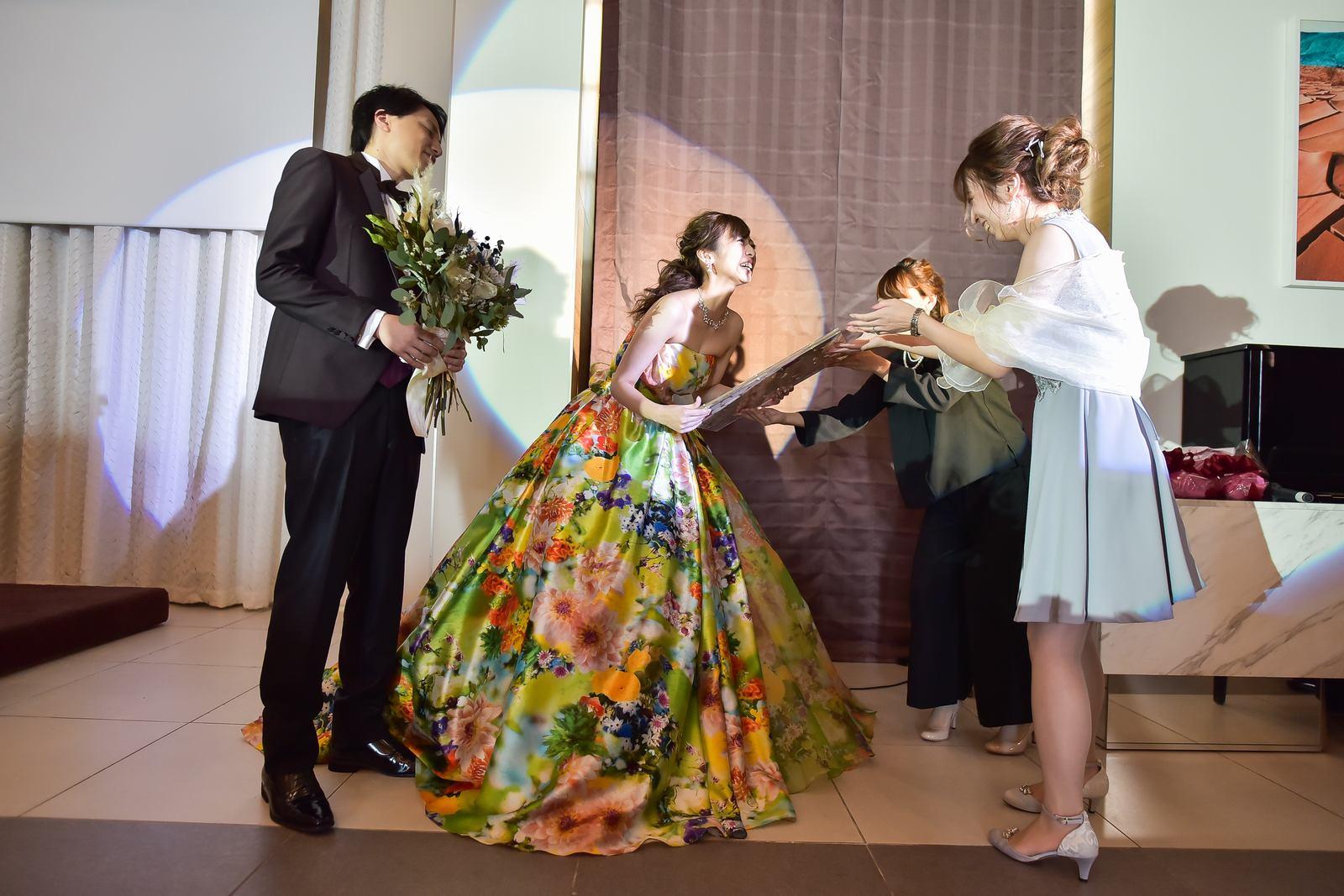 香川県の結婚式場シェルエメール&アイスタイルの友人サプライズ