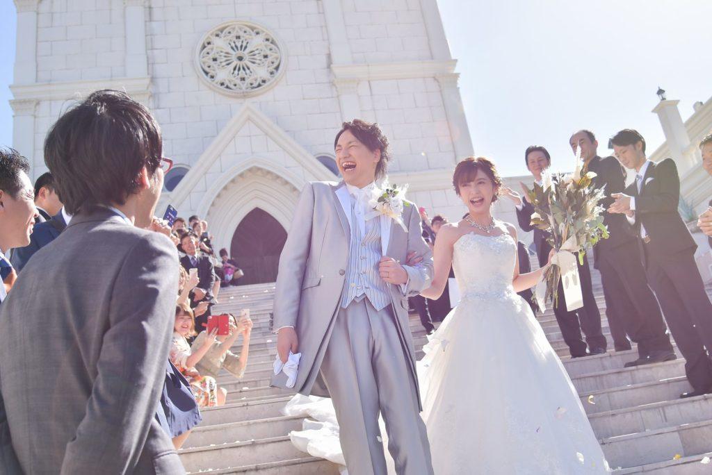 香川県の結婚式場シェルエメール&アイスタイル 幸せの大階段