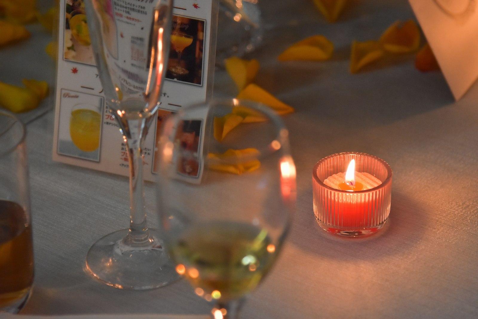 香川県の結婚式場シェルエメール&アイスタイルのキャンドル