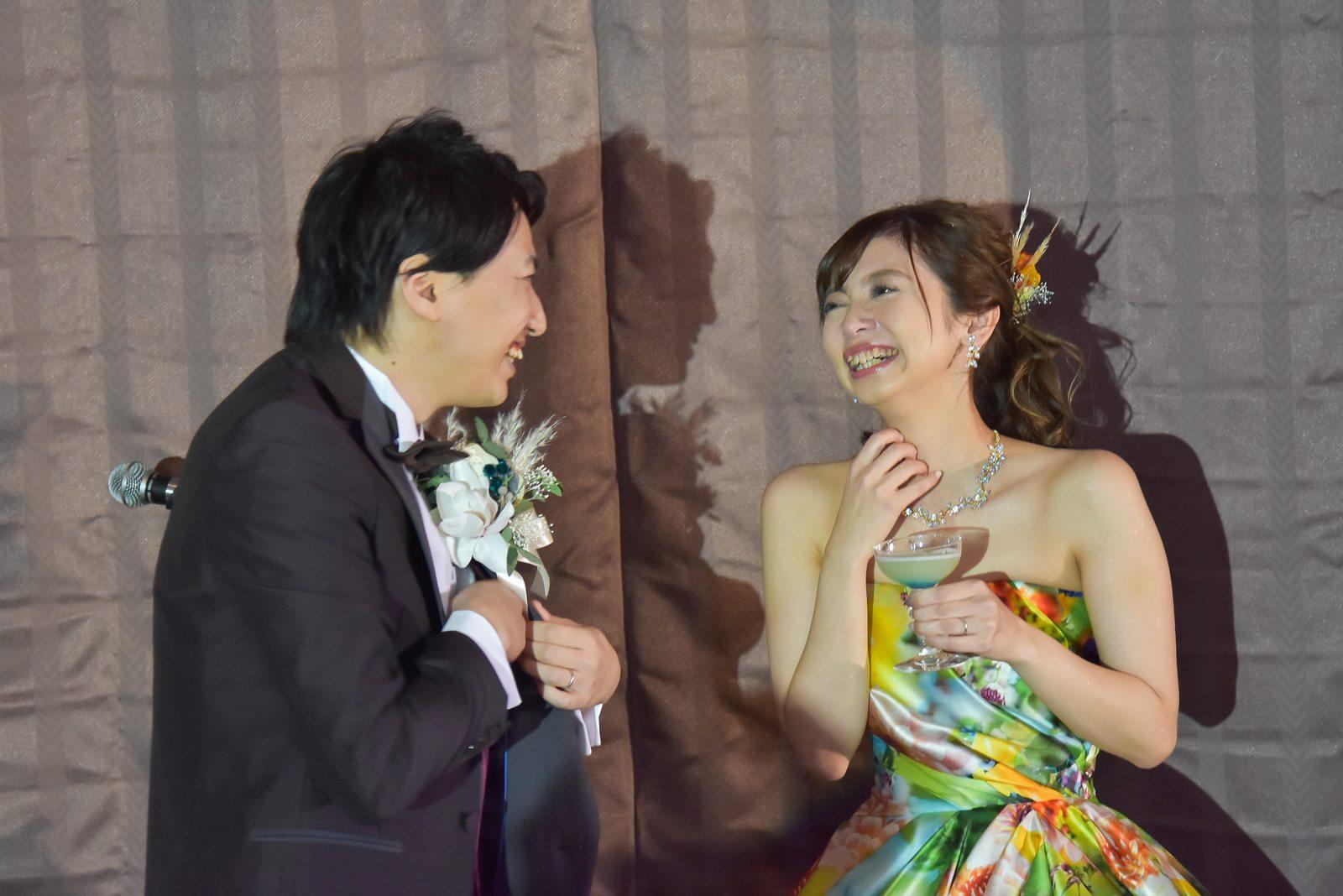 香川県の結婚式場シェルエメール&アイスタイルのカクテルサービス