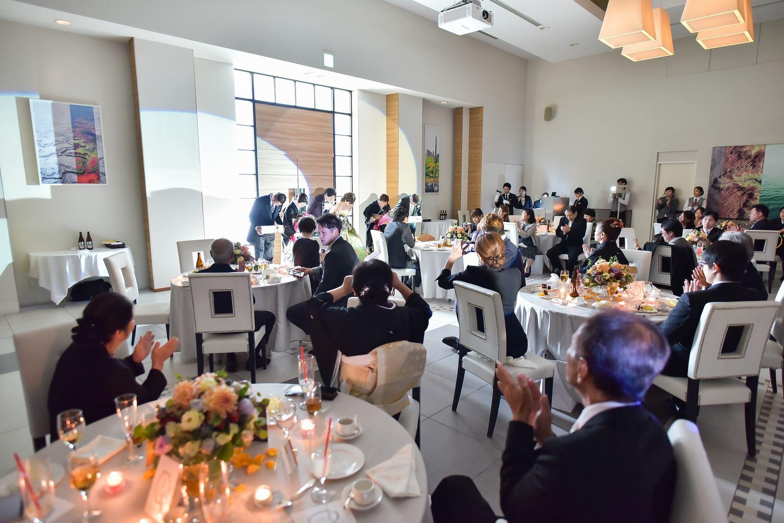 香川県の結婚式場シェルエメール&アイスタイル 両家退場