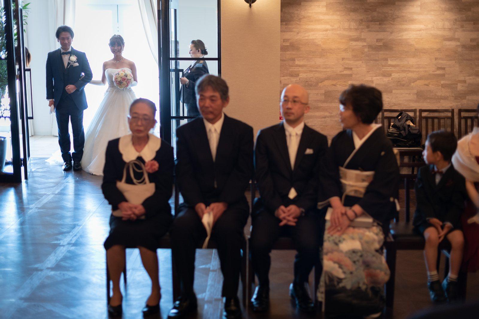 香川県の結婚式場のシェルエメール&アイスタイル 親族紹介