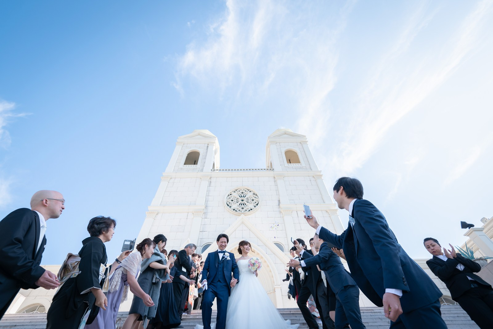 香川県の結婚式場のシェルエメール&アイスタイルの幸せの大階段