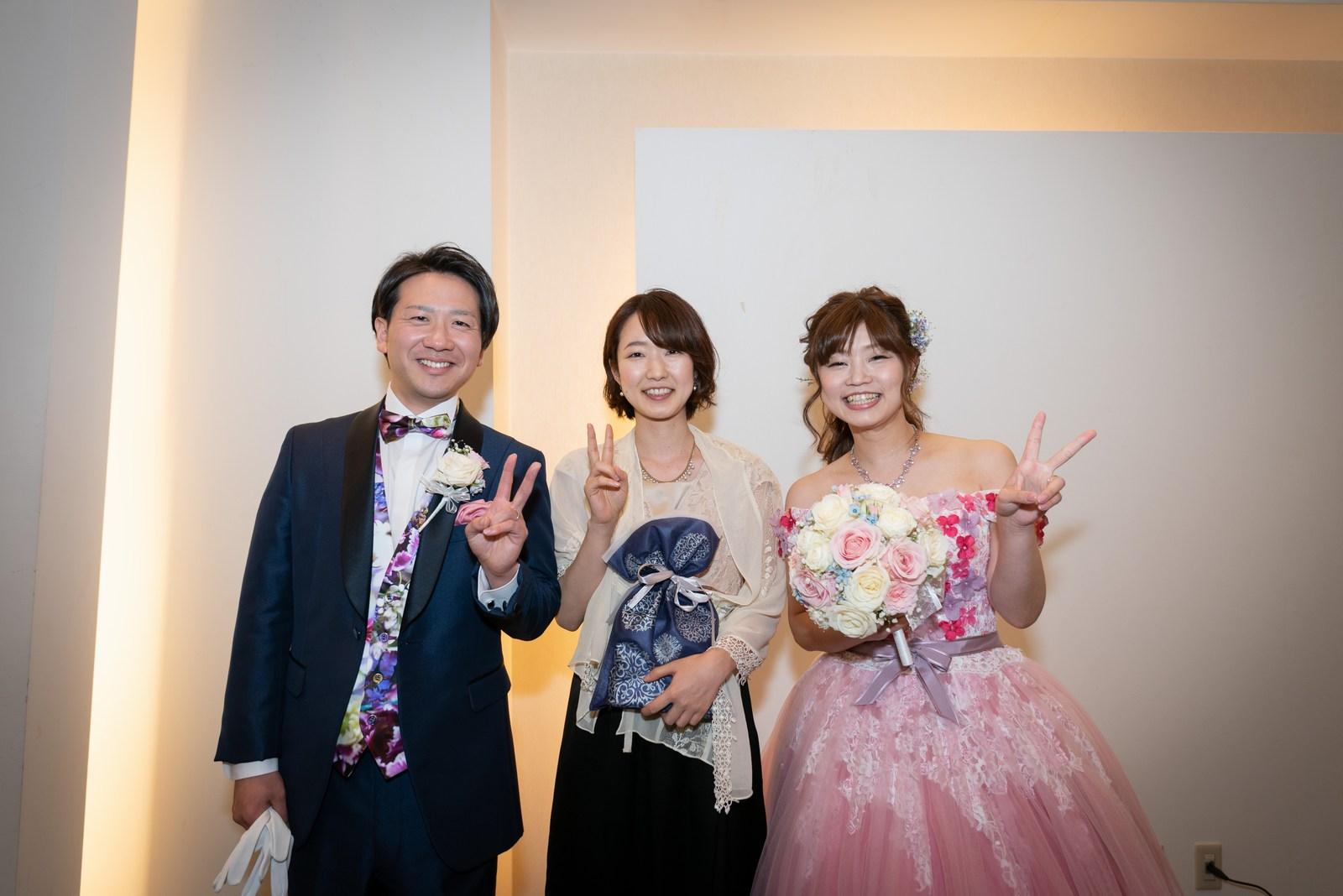 香川県の結婚式場のシェルエメール&アイスタイル ゲストと新郎新婦