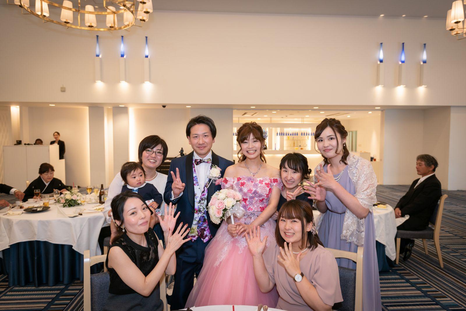 香川県の結婚式場のシェルエメール&アイスタイルのフォトラウンド