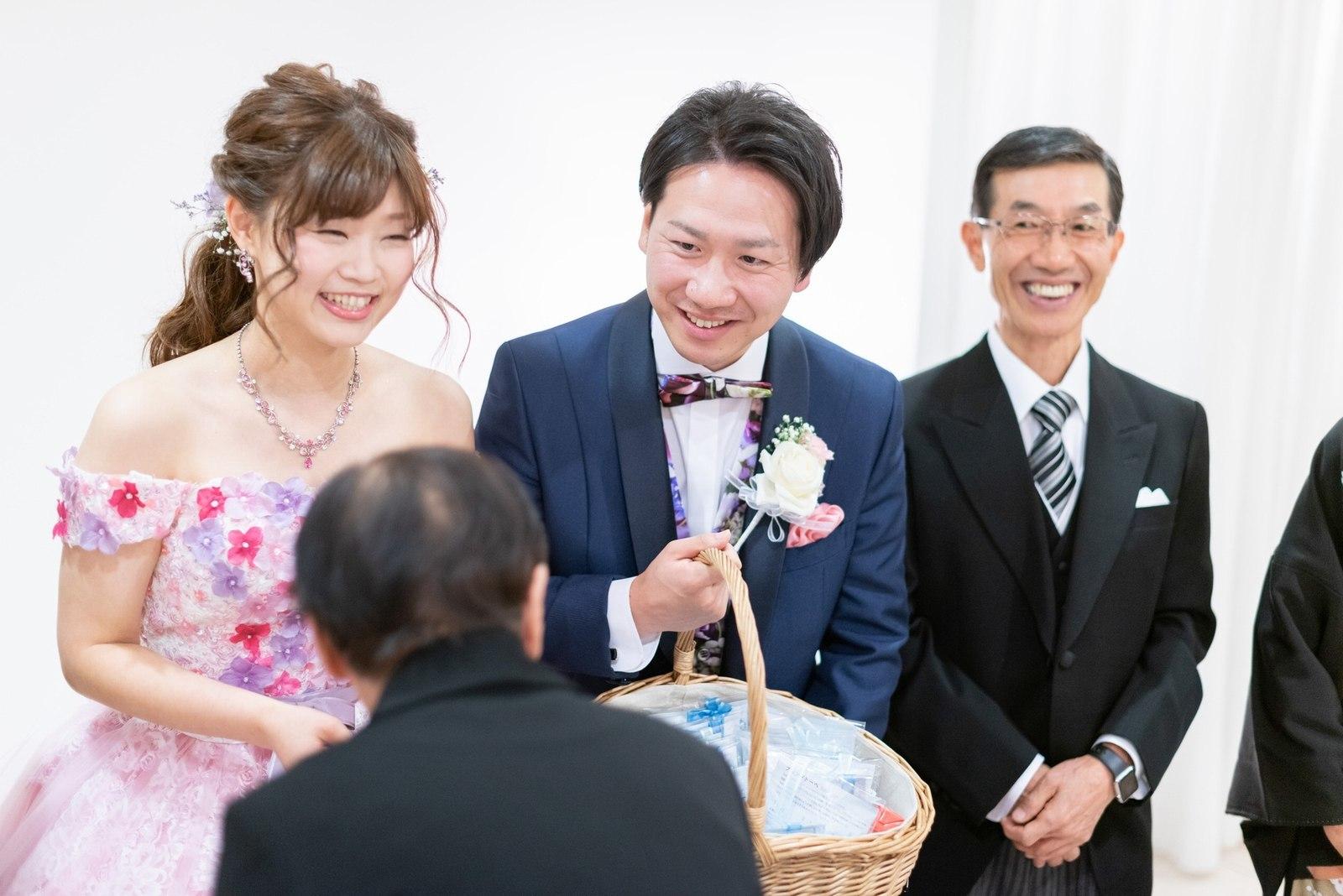 香川県の結婚式場シェルエメール&アイスタイル お見送り