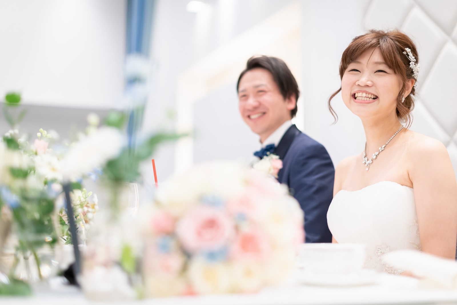 香川県の結婚式場のシェルエメール&アイスタイル 新郎新婦