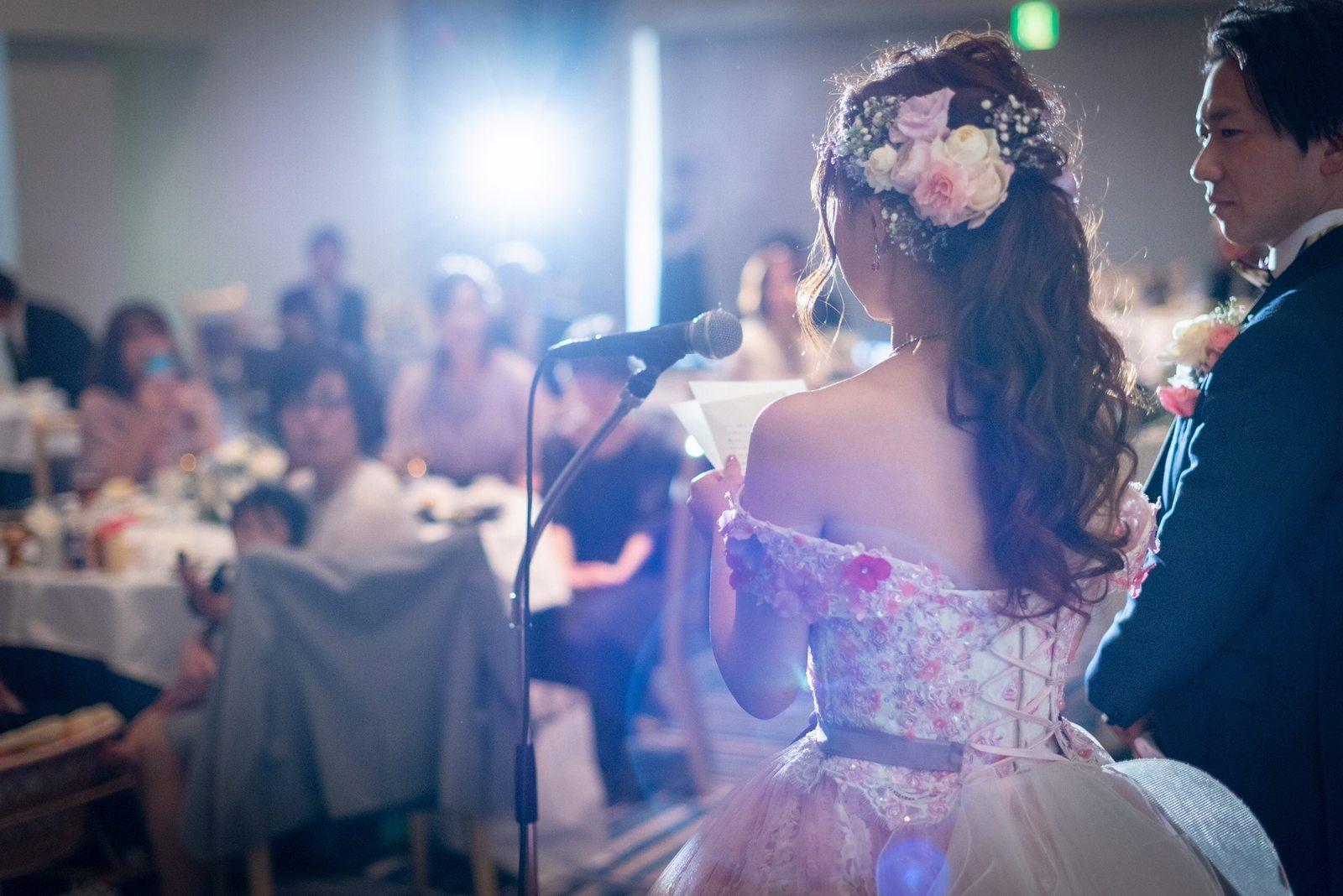 香川県の結婚式場のシェルエメール&アイスタイル 新婦手紙