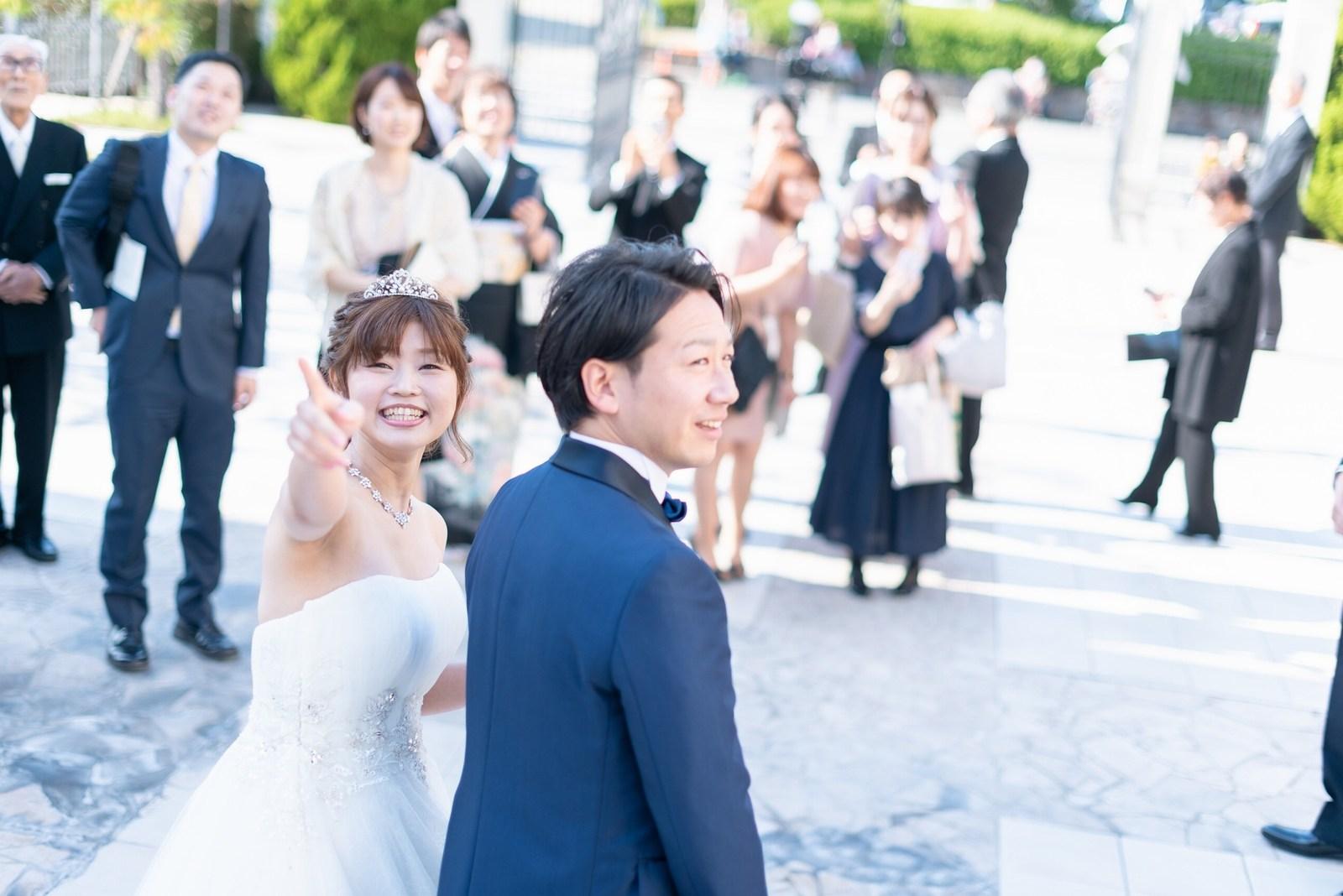 香川県の結婚式場のシェルエメール&アイスタイルのバルーンリリース