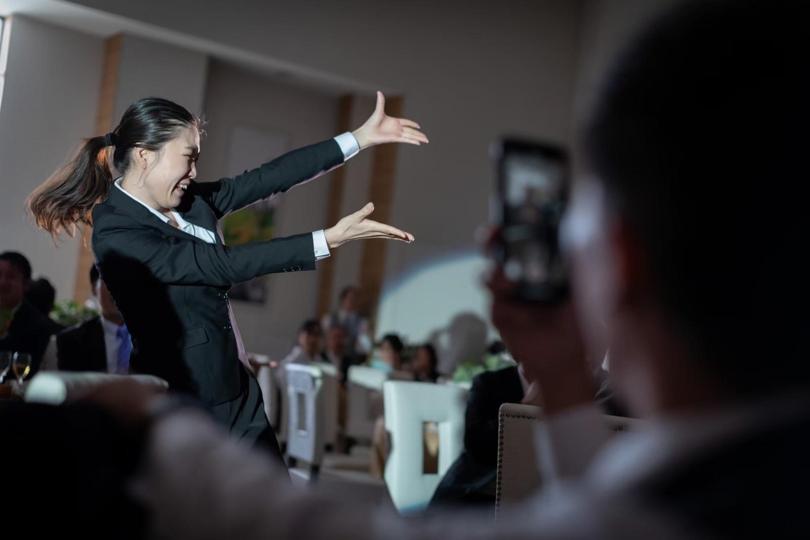 香川県の結婚式場シェルエメール&アイスタイルのフラッシュモブ