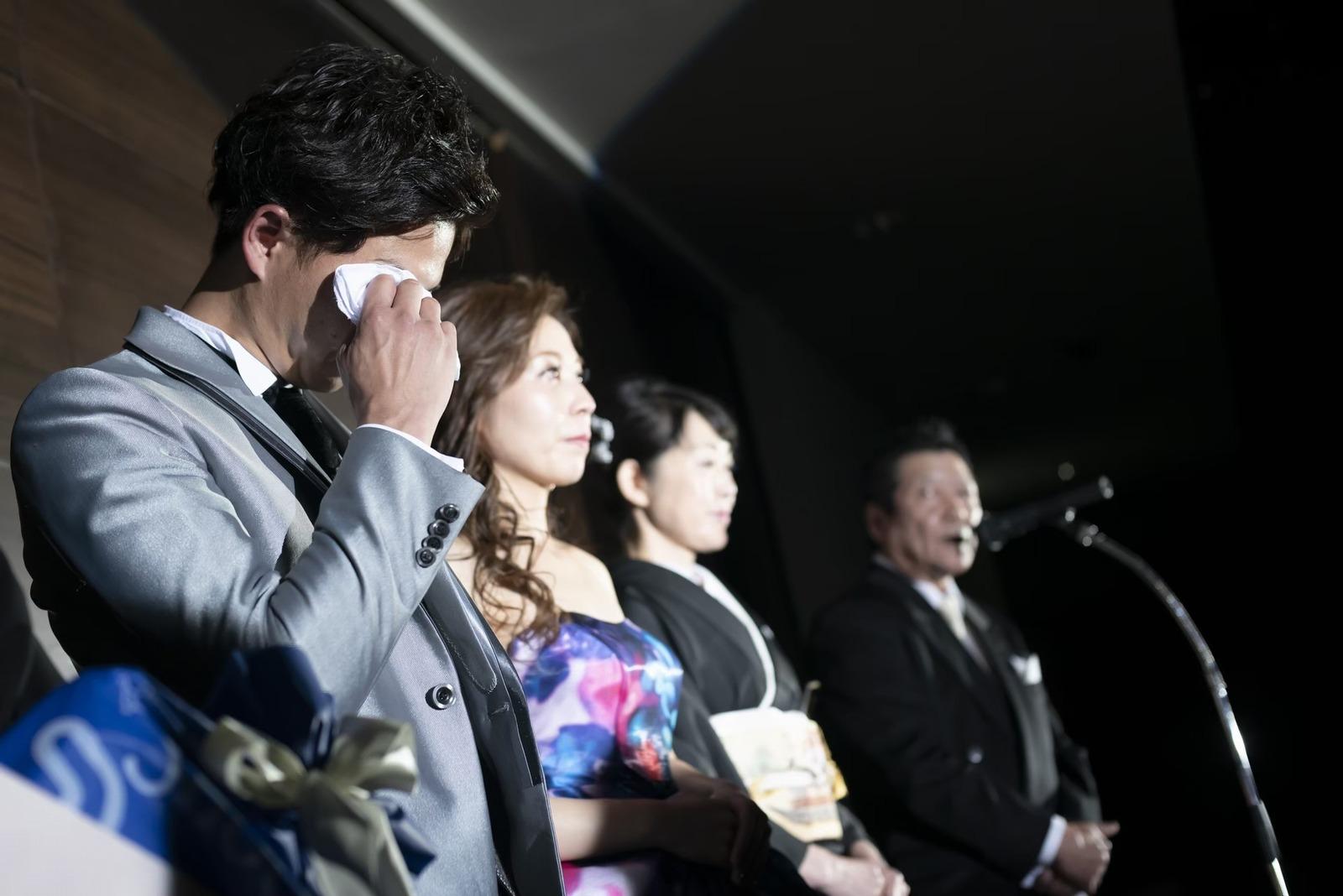 香川県の結婚式場シェルエメール&アイスタイルの新郎父謝辞
