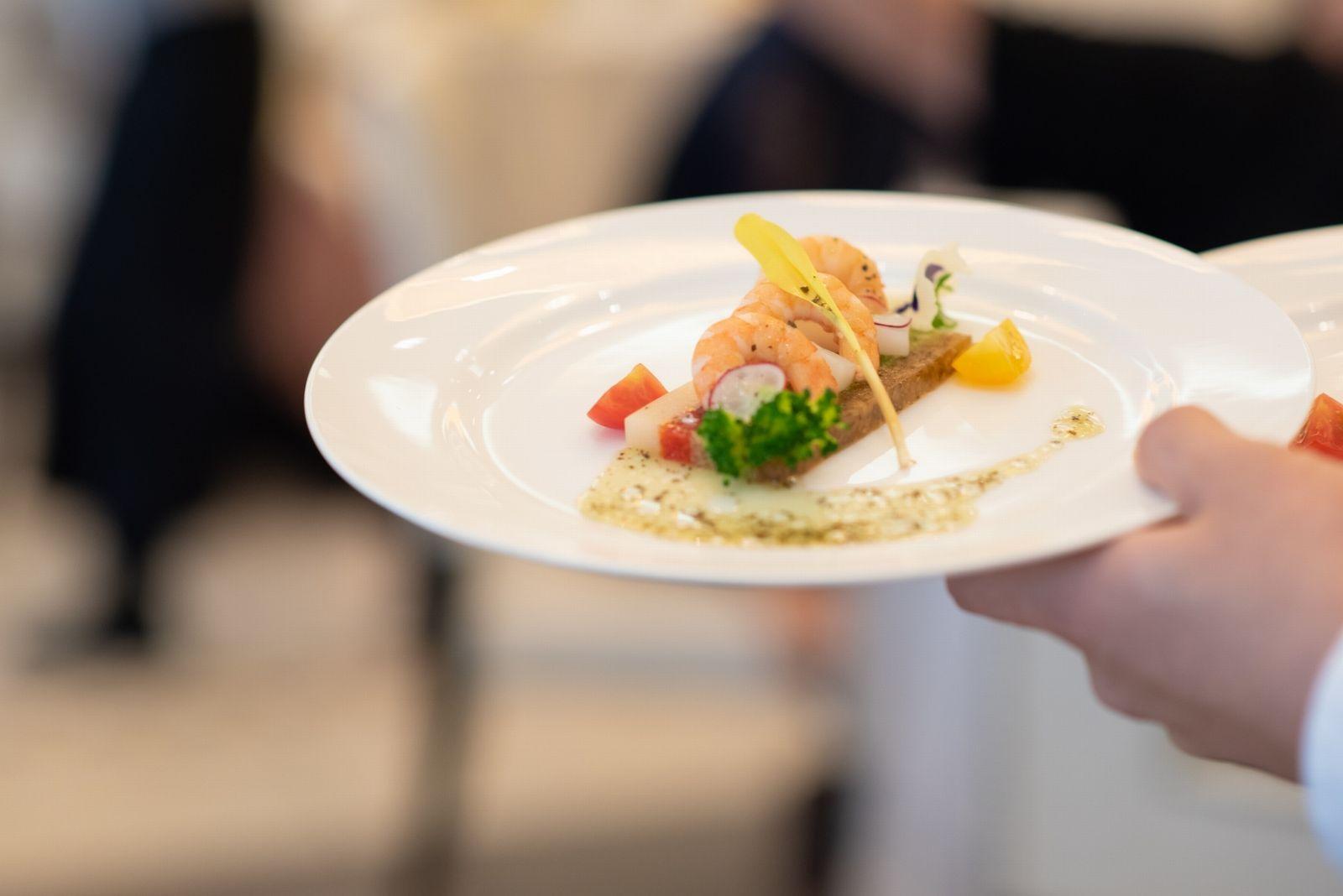 香川県の結婚式場シェルエメール&アイスタイル コース料理