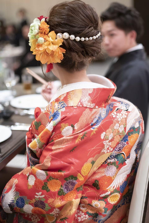 香川県の結婚式場シェルエメール&アイスタイルのヘアセット