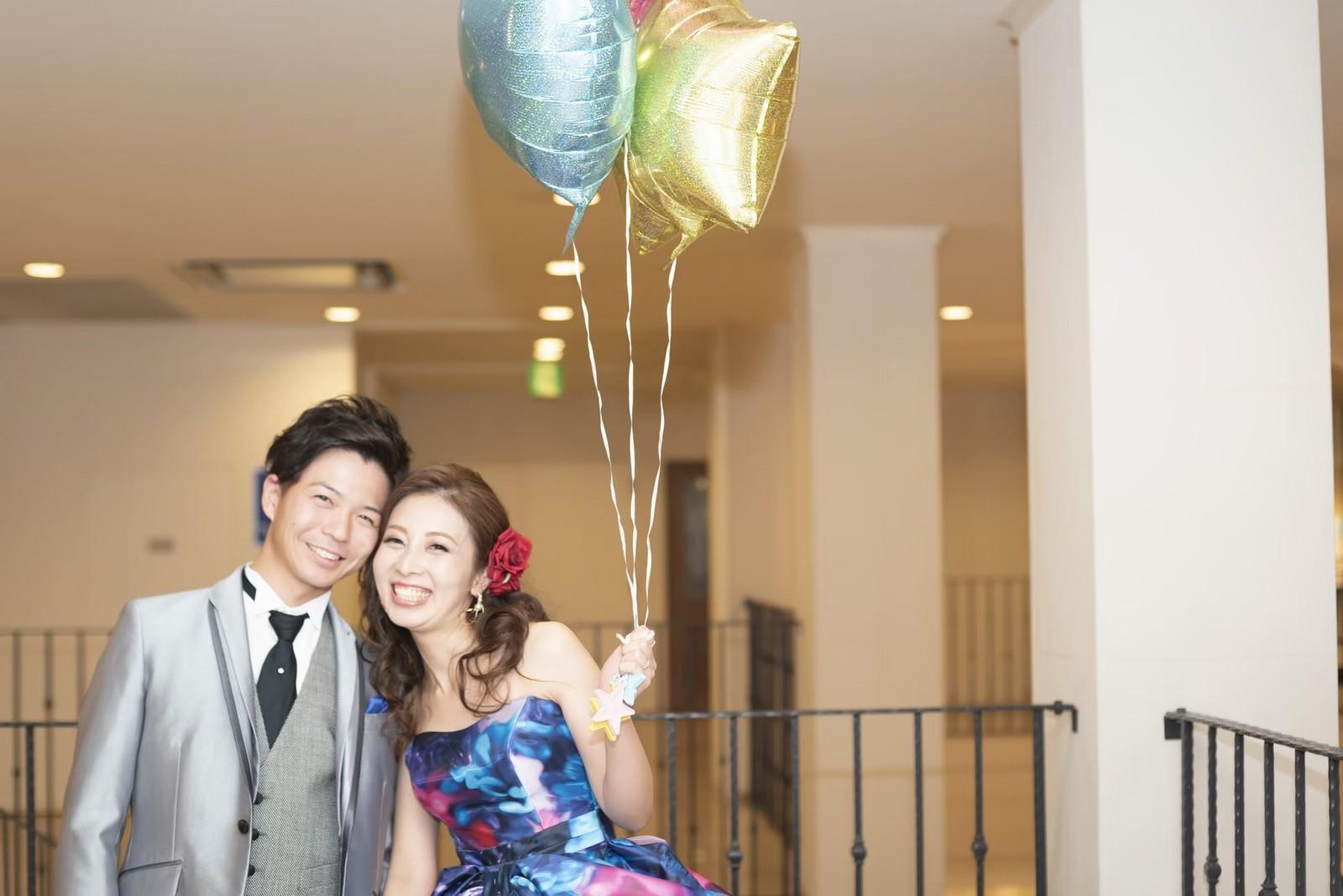香川県の結婚式場シェルエメール&アイスタイルのツーショット