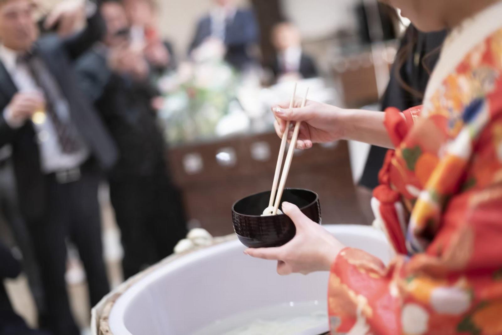 香川県の結婚式場のシェルエメール&アイスタイル うどん