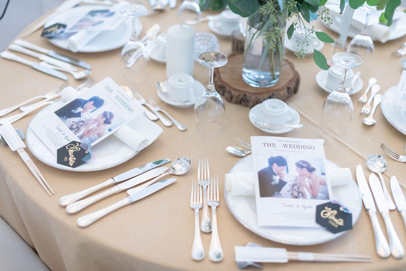 香川県の結婚式場シェルエメール&アイスタイルの会場コーディネート